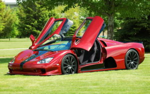 car, red cars, Shelby, SSC Ultimate Aero TT, vehicle, plant HD wallpaper