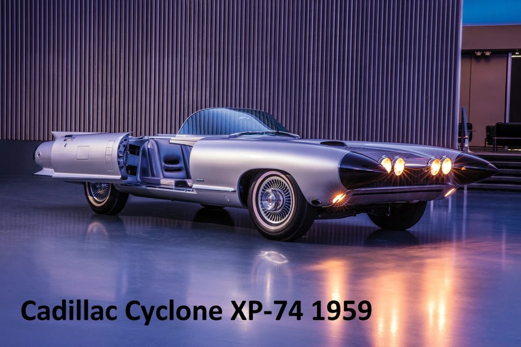 Cadillac Cyclone XP-74 1959 - Concept car (Feb 2020)