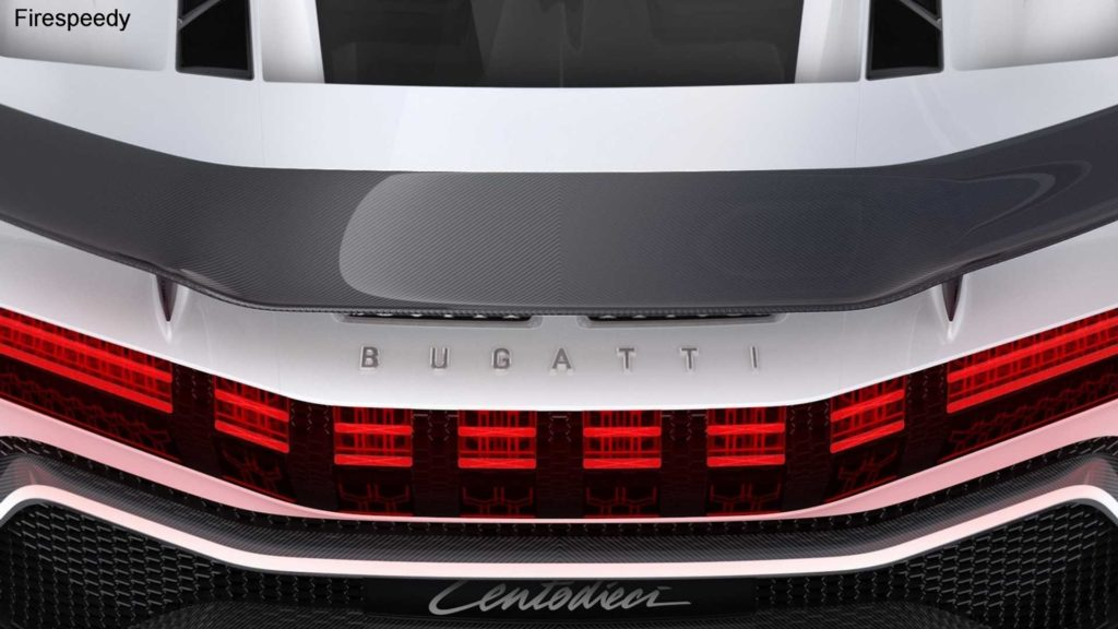 Bugatti Centodieci is the most expensive limited edition car of Bugatti 2020