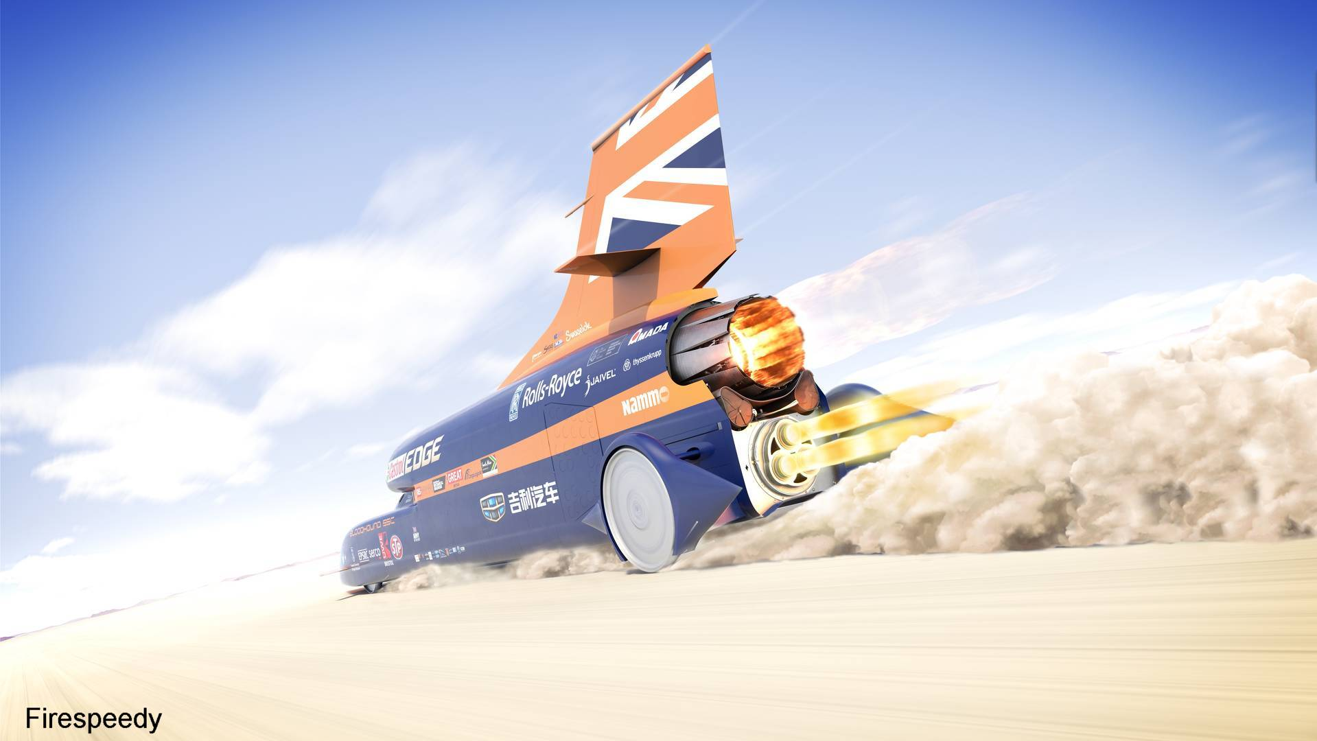 Bloodhound SSC | Fastest Car in the World 2020 (Land Speed Record)