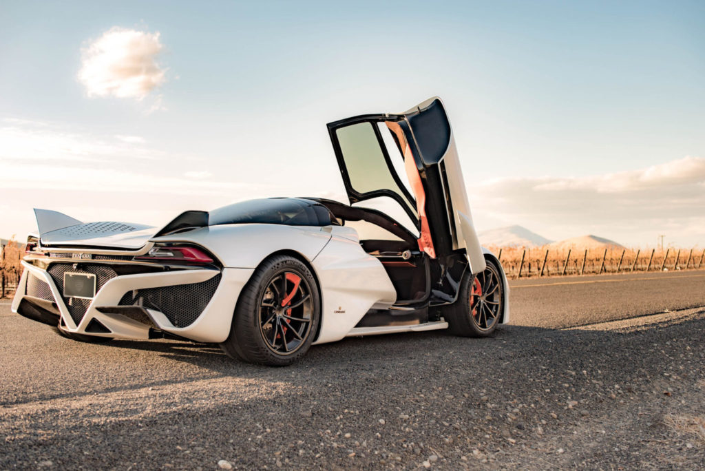 Rank 3 in the Top 10 Fastest Cars in the world 2020
