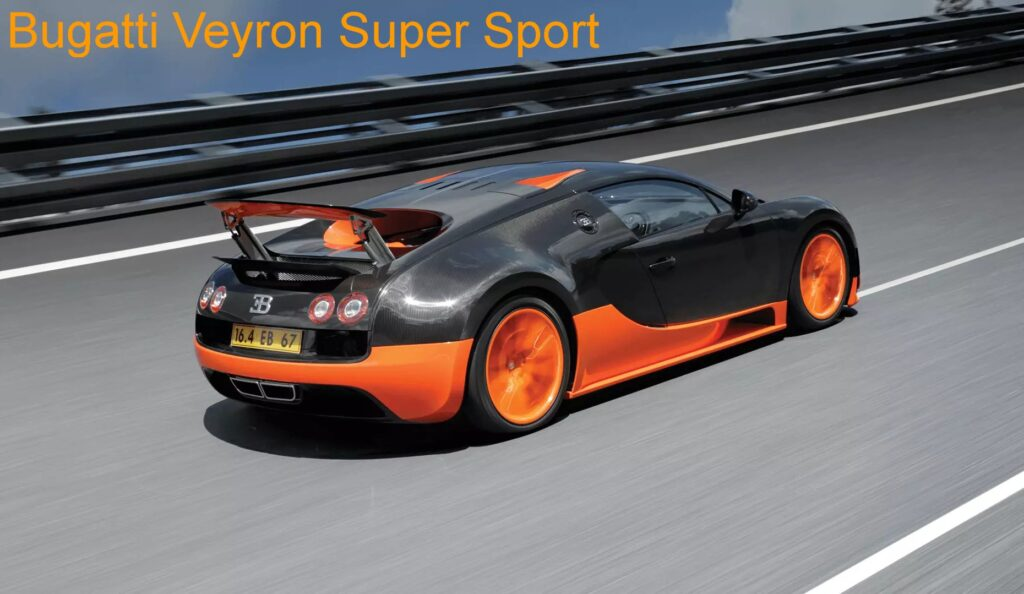 Bugatti Veyron speed test